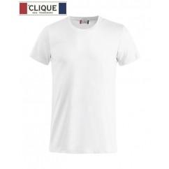 Clique® T-Shirt Basic-T Blanc 29030