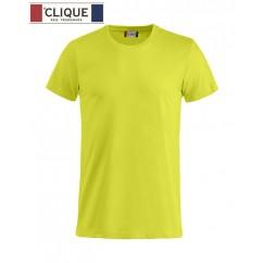Clique® T-Shirt Basic-T Vert Haute Visibilité 29030