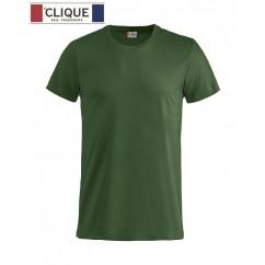 Clique® T-Shirt Basic-T Vert Bouteille 29030
