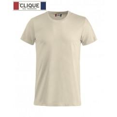 Clique® T-Shirt Basic-T Beige Clair 29030