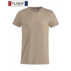 Clique® T-Shirt Basic-T Café au lait 29030