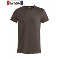 Clique® T-Shirt Basic-T Marron 29030
