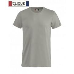 Clique® T-Shirt Basic-T Gris Argent 29030