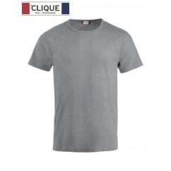 Clique® T-Shirt Fashion-T Gris Chiné 29324