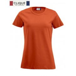 Clique® T-Shirt Fashion-T Ladies Orange Fluo 29325