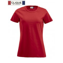 Clique® T-Shirt Fashion-T Ladies Rouge 29325
