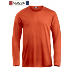 Clique® T-Shirt Fashion-T L/S Orange Fluo 29329