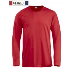 Clique® T-Shirt Fashion-T L/S Rouge 29329