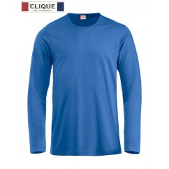 Clique® T-Shirt Fashion-T L/S Bleu Royal 29329