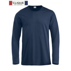 Clique® T-Shirt Fashion-T L/S Bleu Marine 29329