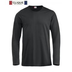 Clique® T-Shirt Fashion-T L/S Noir 29329