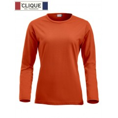 Clique® T-Shirt Fashion-T L/S Ladies Orange Fluo 29330
