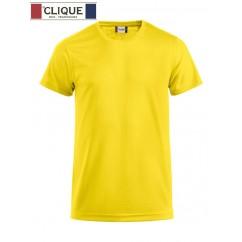 Clique® T-Shirt Ice-T Jaune Citron 29334