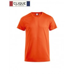 Clique® T-Shirt Ice-T Orange Fluo 29334