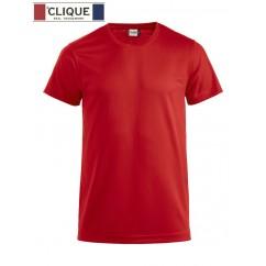 Clique® T-Shirt Ice-T Rouge 29334