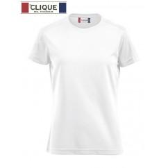 Clique® T-Shirt Ice-T Ladies Blanc 29335