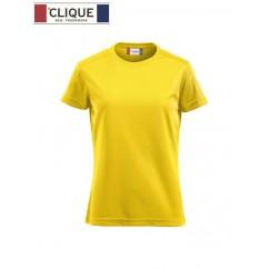 Clique® T-Shirt Ice-T Ladies Jaune Citron 29335