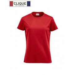 Clique® T-Shirt Ice-T Ladies Rouge 29335