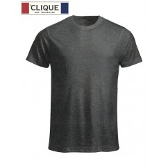 Clique® T-Shirt New Classic-T Gris Anthracite Chiné 29360