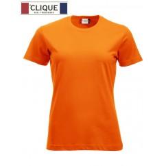 Clique® T-Shirt New Classic-T Ladies Orange HV 29361