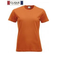 Clique® T-Shirt New Classic-T Ladies Orange Fluo 29361