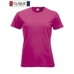 Clique® T-Shirt New Classic-T Ladies Rose Cerise 29361