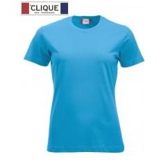 Clique® T-Shirt New Classic-T Ladies Bleu Turquoise 29361