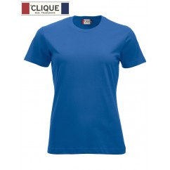 Clique® T-Shirt New Classic-T Ladies Bleu Royal 29361