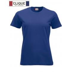 Clique® T-Shirt New Classic-T Ladies Bleu Foncé 29361