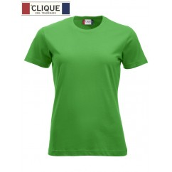 Clique® T-Shirt New Classic-T Ladies Vert Pomme 29361
