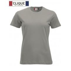 Clique® T-Shirt New Classic-T Ladies Gris Argent 29361