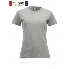 Clique® T-Shirt New Classic-T Ladies Gris Chiné 29361