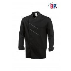 BP® Veste cuisinier noire et grise claire 1538.400.3251