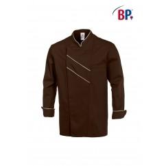 BP® Veste cuisinier Chocolat et Écru 1538.400.4347