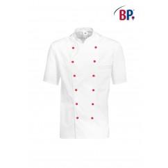 BP® Veste cuisinier blanche 1/2 manches 1546.400.21