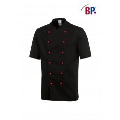 BP® Veste cuisinier noire 1/2 manches 1546.400.32