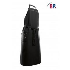 BP® Tablier à bavette Long Noir / Gris Clair 1975.400.3251