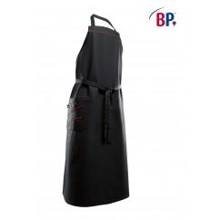 BP® Tablier à bavette Long Noir / Rouge 1975.400.3281