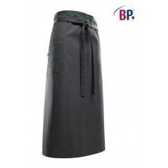 """BP® Tablier """"Bistro"""" Long Gris / Vert 1976.400.5772"""