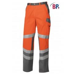 BP® Pantalon de Travail Orange Haute-Visibilité 2110.845.8553