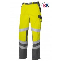 BP® Pantalon de Travail Jaune Haute-Visibilité 2110.845.8653