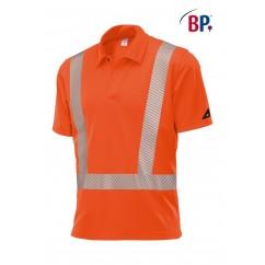 BP® Polo unisexe Orange Haute-Visibilité 2132.260.85