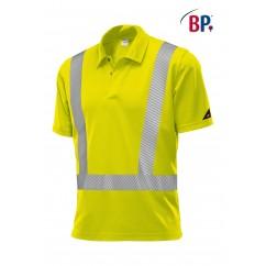 BP® Polo unisexe Jaune Haute-Visibilité 2132.260.86