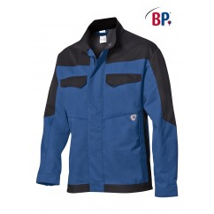 BP® Veste de travail Bleue et Noire 2432.820.1332